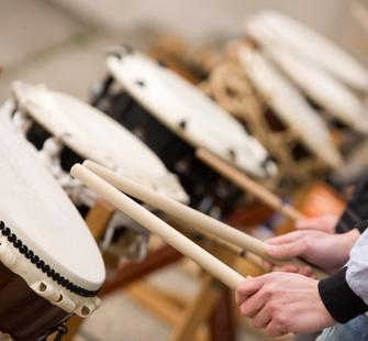 Rhythms of Japan: Taiko Drumming