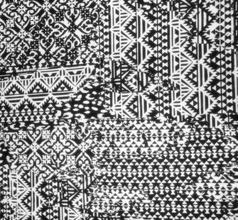 Pattern on Fabric