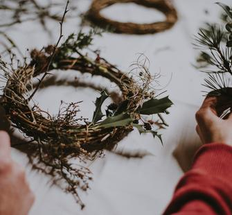 Winter Wreath-Making